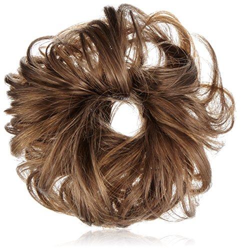 Solida Bel Hair Fashionring Kerstin Kunsthaar, dunkelblond/ hellbraun gesträhnt, 1 Stück