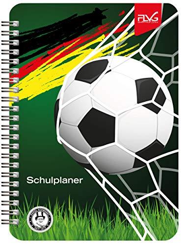 FLVG A5 Gymnasial-, Schul- und Studienplaner 2020/2021 Schulplaner – Schülerkalender Fußball Sonderedition von Onkel Schwerdt