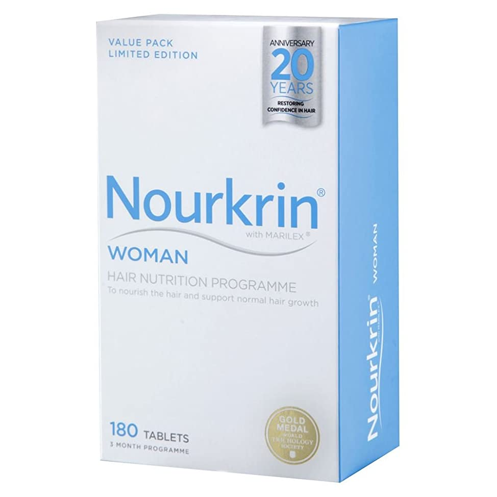 Nourkrin Woman For Hair Growth 180 Tablets