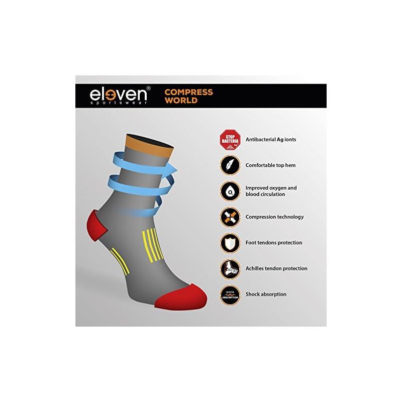 Compression Socks for Running, Cycling, Hiking, Fitness, Crossfit & Flight Travel (Men & Women)