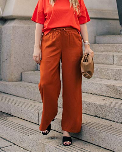 The Drop Women's Cinnamon Side-Slit Pull-On Pants by @graceatwood