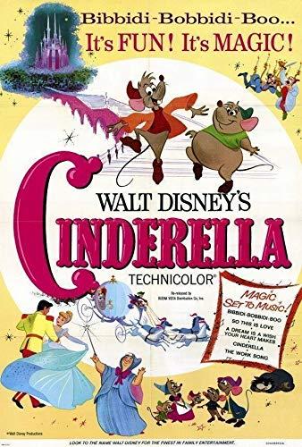 MariposaPrints 67288 Cinderella Movie Ilene s, William Phipps Decor Wall 36x24 Poster Print