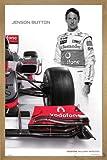 Close Up Mclaren Mercedes Poster Jenson Button (66x96,5 cm)