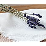 "Linen Bath Towel - Softened and Stonewashed - Grey Towel - 30"" x 58"" - Natural Organic Eco 100% Flax Fabric - Ideal as Bath, Sauna, Spa, Beach Towel (Grey) Closeup"