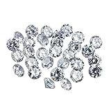 3.20-3.30 MM mit jeweils einer Größe 0,50 Karat CVD Lab Grown Lose Diamonds Lot Man Made