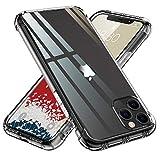 【ONES】 iPhone11ProMax ケース 高透明 米軍MIL規格〔衝撃吸収、レンズ保護、滑り止め、軽い、フィット感〕『エアクッション技術、半密閉音室、Qi充電』Airシリーズ カバー クリア