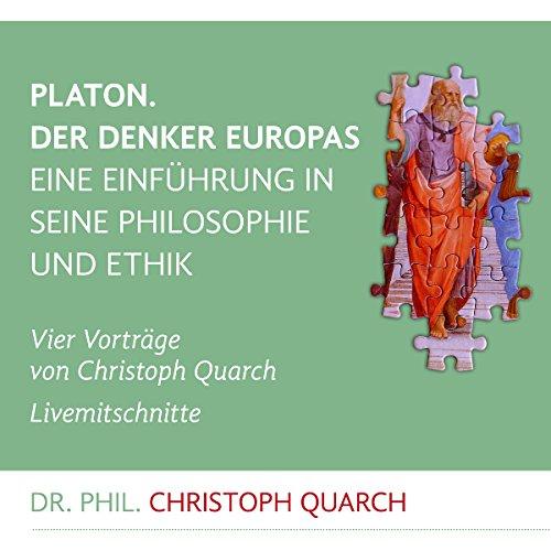 Couverture de Platon. Der Denker Europas