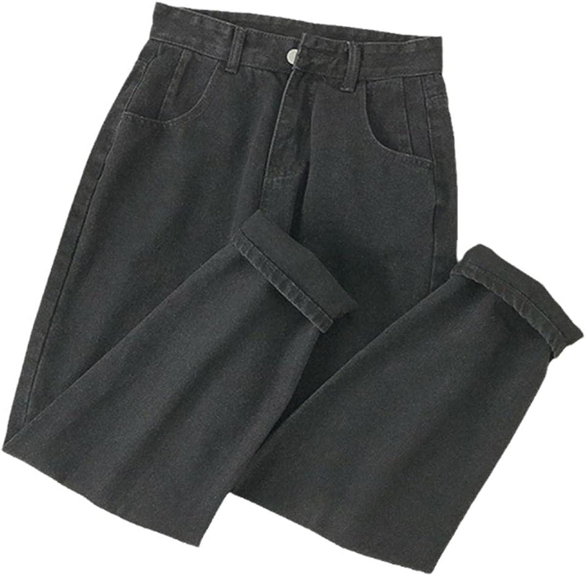 High Arlington Mall Waist Las Vegas Mall Jeans for Women Autumn Easy and Winter Matc Retro New