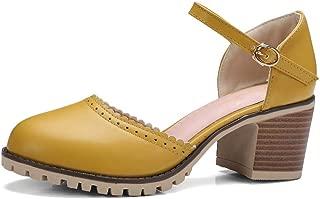BalaMasa Womens ASL06945 Pu Heeled Sandals