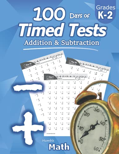Humble Math - 100 Days of Timed Tests: Addition and...