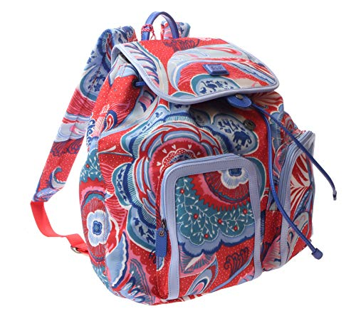 Oilily Maxi Flowers Backpack Red