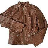 Bernardo Ladies' Fashion Jacket soft wheat Brown Mahogany (Small)