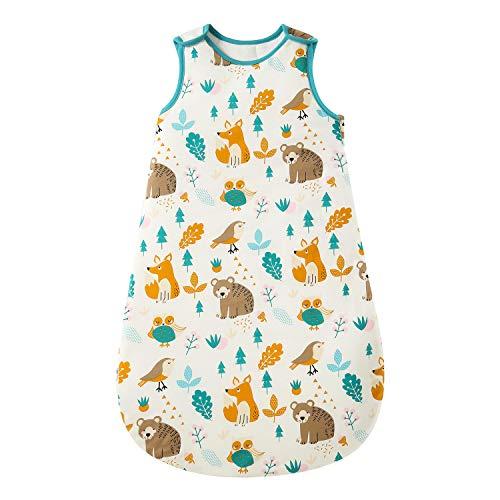 Saco de dormir para bebé de invierno, 2,5 tog, 100% algodón, diferentes tamaños, desde el nacimiento hasta la edad de 18 meses, para todo el año