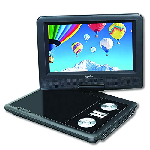 Great Price! SuperSonic SC-178 Portable DVD Player 7 High Definition: USB and SD inputs with Built-...