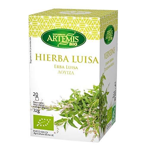 Artemisbio Hierba Luisa Eco 20 Filtros Filtros Infusiones Artemisbio 300 g