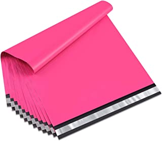 UCGOU 19x24 Inch Hot Pink Poly Mailers 2.35MIL Premium Shipping Envelopes Mailer Self Sealed Mailing Bags with Self Adhesive Strip Waterproof and Tear-Proof Postal Bags 50Pcs