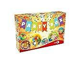 Noris 606011069 Party Box, Geburtstagsspielesammlung mit vielen Klassikern für jeden Kindergeburstag, ab 3 Jahren