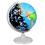 CamKing Illuminated World Globe for Kids Educational/Study Geographic Map Globe (DQ-1)