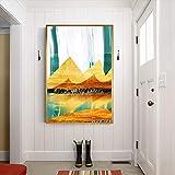 Abstrakte goldene Reflexion Sonnenaufgang Fluss Seine