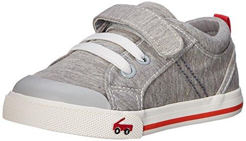 See Kai Run Boys Tanner Sneaker , Gray, 1 M US Little Kid