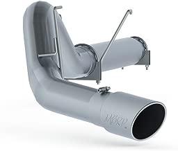 MBRP S61240PLM Aluminum Filter Back, Single Side Exit (No Muffler) for Dodge Diesel