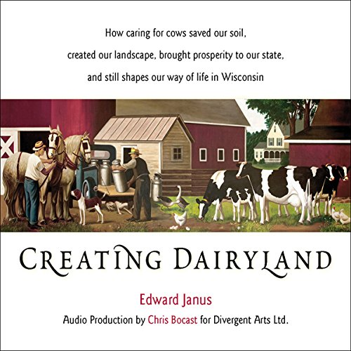 Creating Dairyland audiobook cover art