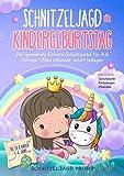 Schnitzeljagd für Kindergeburtstag: Die spannende Einhorn-Schatzsuche für 4-6 Jährige | Alles inklusive: sofort loslegen