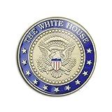 Photo de Badge 25mm USA Service Secret United States Secret Service Maison Blanche 2 Pins Bouton Epinglette par