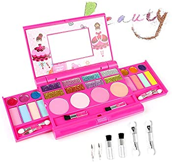 Amosting Pretend Girls Makeup Cosmetic Toys Kit