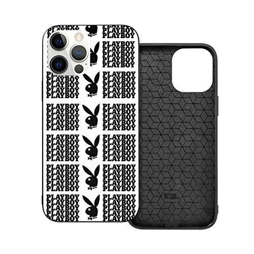 Play Boy Schutzhülle für iPhone 12 Mini (stylisches Design, transparent, dünn), Muster auf weichem TPU-Stoßdämpfer, kratzfest, Schutzhülle für Ip12 Pro-6.1