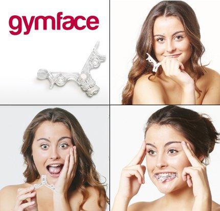 GYMFACE® - Lifting Facial, Yoga Facial, Gimnasia Facial, Ejercitador Facial 2018 (se incluye gomas de recambio)