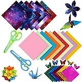 Papel de Origami,Hojas de Papel de Doble Cara, Origami Hecho a Mano, Papel de Color, Papel de Origami Plegable DIY Papel de Origami de Doble Cara para Proyectos de Arte y Artesanía (color)