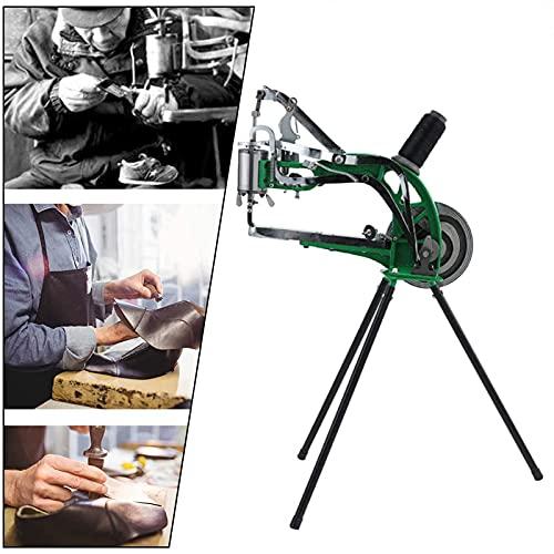HUKOER Máquina de reparación de zapatos de bricolaje Máquina de coser de...