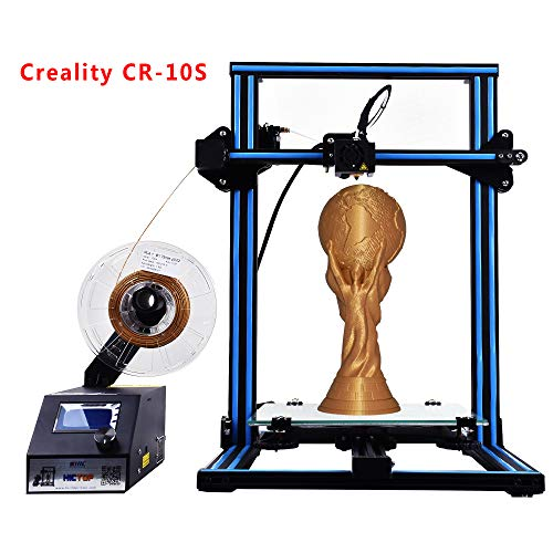 Creality CR-10S 3D Printer HICTOP Filament Monitor Dual Z axis Screw Rods 300x300x400mm