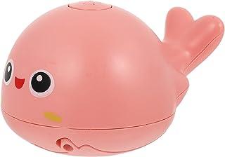 TOYANDONA Whale Spray Water Bath Toy Baby Bath Toy Cartoon Toddler Light Up Bath Toy Spray Water Plaything Sprinkler Batht...