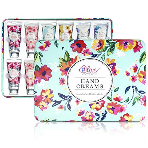 Hand Cream Gift Set - Pack of 12 Hand Lotion Enriched with Shea Butter and Glycerin to Nourish and Deeply...