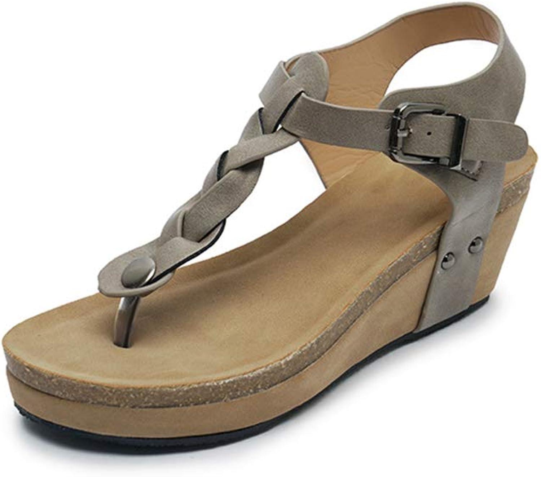 F1rst Rate shoes Wedge Sandals for Women Comfort Flip Flops Slides & Strap Sandal