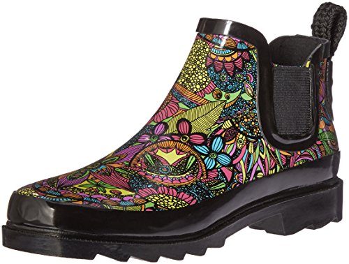 The SAK Women's Rhyme Rain Shoe, Rainbow Spirit Desert, 10 M US