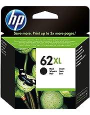 HP 62XL Inktcartridge Zwart, Hoge Capaciteit (C2P05AE) origineel van HP