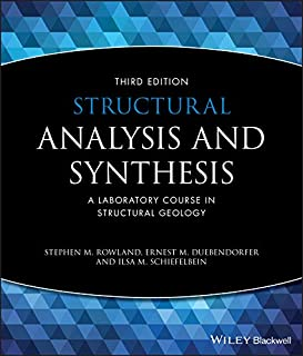 Structural Analysis and Synthesis: A Laboratory Course in Structural Geology (1405116528) | Amazon price tracker / tracking, Amazon price history charts, Amazon price watches, Amazon price drop alerts