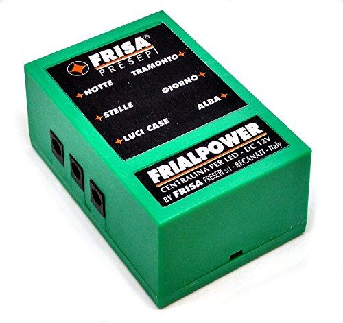 FRISA FRIALPOWER Centralina per presepi di Medie Dimensioni - Kit Completo di LUCI LED e Tutti Gli...
