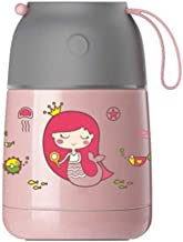 WCHCJ Insulated Lunch Box, Flasks Food Bottle Stainless Steel Thermos Food Container Hot Cooker Insulation Soup Thermos (C...