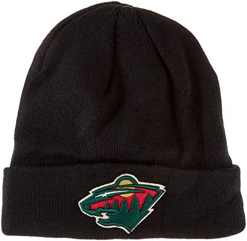 OTS NHL Minnesota Wild Youth Raised Cuff Knit Cap, Team Color, Youth