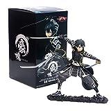 SGOT Sword Art Online Figur, PVC Spielzeug, Kirigaya Kazuto Figur, Krieger Vinylfigur Actionfigur Sammelfigur 17cm