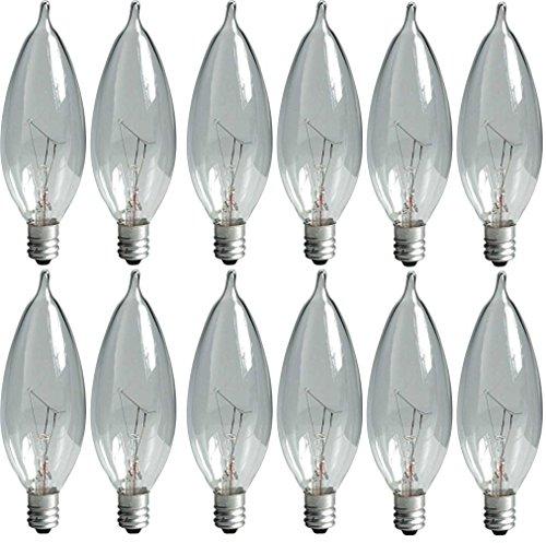 Clear Decorative Light Bulb - 3