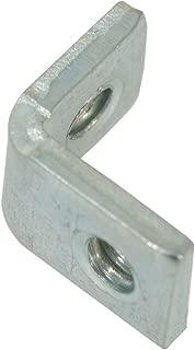 Keystone 621 Universal Mounting Bracket, Threaded Hole, Right Angle, Steel, Zinc Plating (Pack of 15)