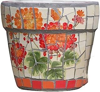 Kotee Färgad keramisk blomkruka plantare växt kruka blomma stor blomma kruka badkar terrakotta keramik bröllop centerpiece...