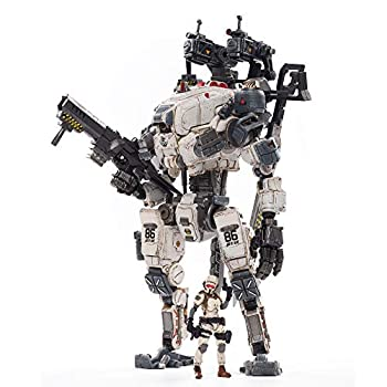 JOYTOY Action Figures 1/25 God of War 86 White Anime Soldier Figure and Mecha PVC DIY Robot Collectible Military Model Collection Toys