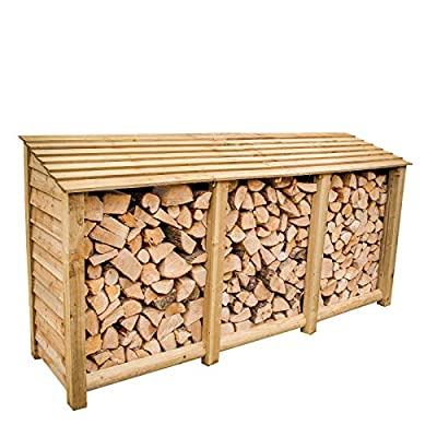 The Garden Supplies Centre Extra Large Log Store, Pressure Treated
