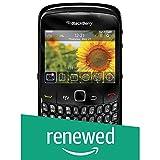 Blackberry 8520 Gemini - Smartphone sbloccato, schermo da 2,46 pollici, 320 x 240, fotocamera da 2 MP, capacità 256 MB, processore da 600 MHz, tastiera QWERTY S.O. iOS 5) nero (Ricondizionato)